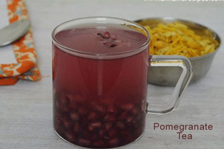 Pomegranate Tea Pomegranate Tea Recipe